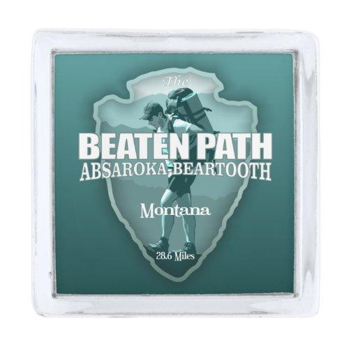 Beaten Path (arrowhead T) Silver Finish Lapel Pin