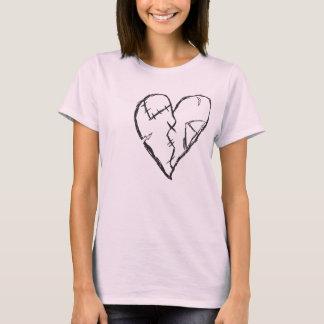 Beaten up heart T-shirt