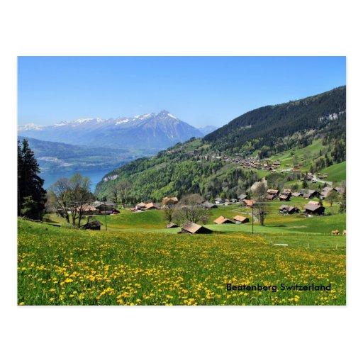 Beatenberg Switzerland Postcard