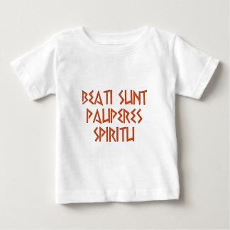 beati pauperes sunt spiritu baby T-Shirt