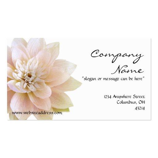 Beatiful Lotus Flower Business Card