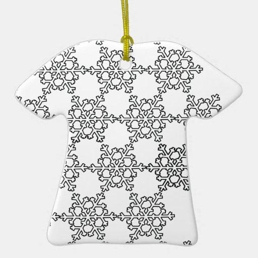 Beatiful Snowflake Pattern Christmas Ornament