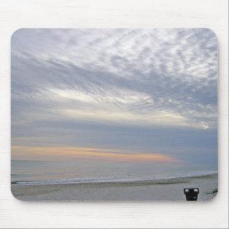 Beatiful Sunset Along Carolina Seashore Mouse Pad