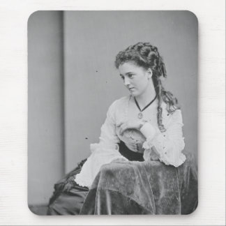 Beatiful Unknown Woman From the Civil-War Era Mouse Pad
