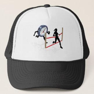 Beating a Deadline Trucker Hat