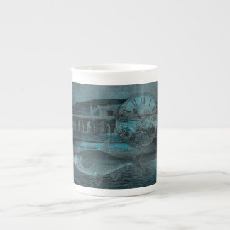 Beating the Blues Tea Cup