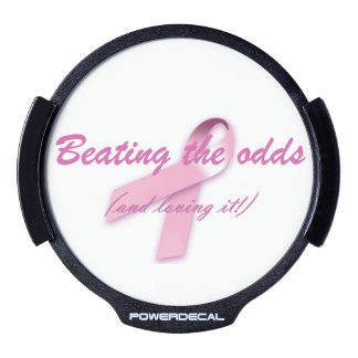 Beating the Odds (and loving it!) LED Car Decal