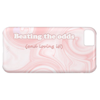 Beating the Odds (and loving it!) Phone Case Cover For iPhone 5C