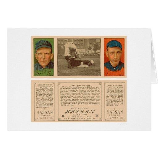 Beating The Yankee Baseball 1912 Card
