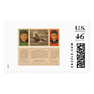 Beating The Yankee Baseball 1912 Postage Stamp