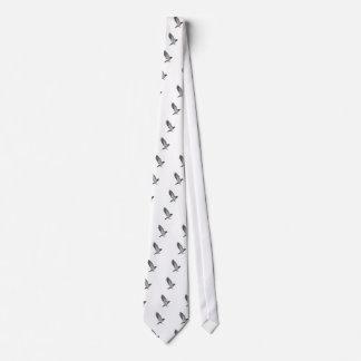 Beating wings neck tie