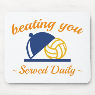 Beating You In Volleyball Mouse Pad