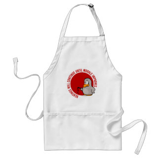 Beatings will continue until morale improves adult apron