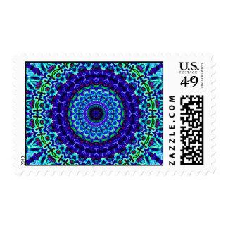 Beatitude No. 7 Kaleidoscope Postage Stamps