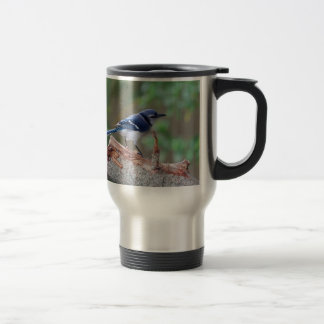 Beatitude of a Bluejay III Travel Mug