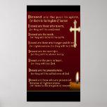 Beatitudes Christian gifts Print