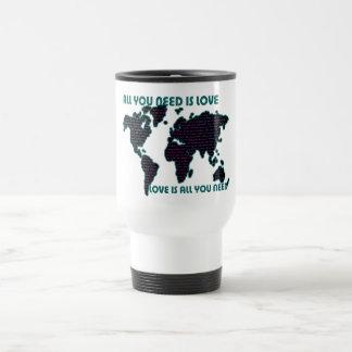 Beatles World All You Need Is Love Travel Mug