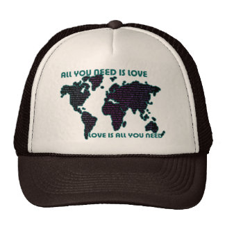 Beatles World All You Need Is Love Trucker Hat