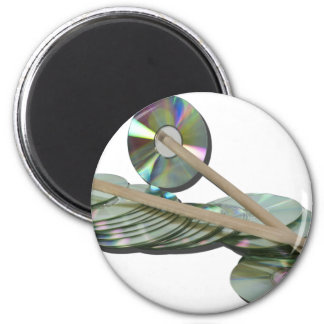BeatMusic042211 2 Inch Round Magnet