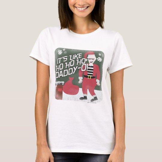 Beatnik Santa T-Shirt