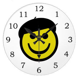 Beatnik Smiley Large Clock
