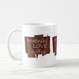 Beatniks love coffee coffee mug