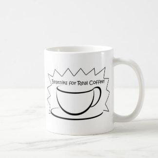 Beatniks para la taza de café real