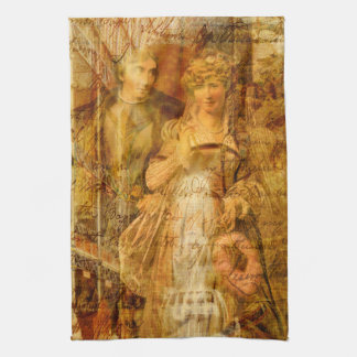 Beatrice and Benedick Hand Towel