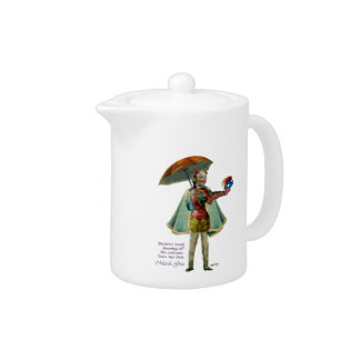 Beatrice and Her Mardi Gras Costume Teapot