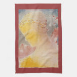 Beatrice by Bertrand-Jean Redon Towels