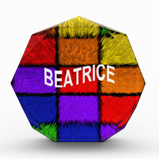 BEATRICE ( female names ) Award