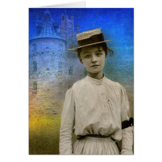 Beatrice, France 1916-Notecard Greeting Card