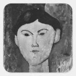 Beatrice Hastings  c.1914-15 Square Sticker