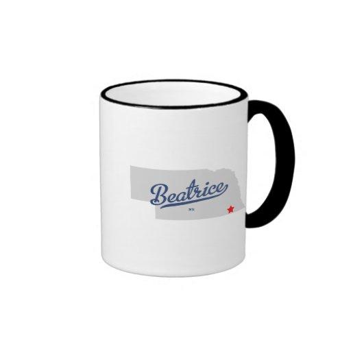 Beatrice Nebraska NE Shirt Ringer Coffee Mug