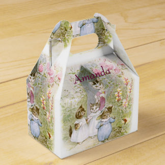 Easter favor boxes zazzle beatrix potter birthday favor easter gift favor box negle Image collections