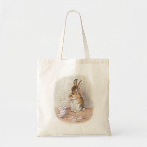 Beatrix Potter Bunny Rabbit Tote Bag