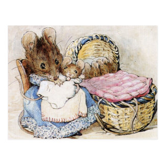 Beatrix Potter,  Children's Story Books, Custom Postcard
