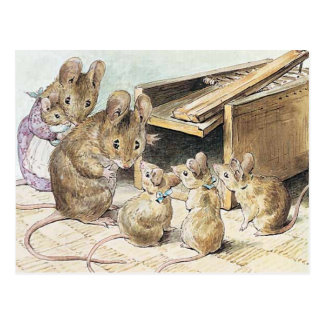 Beatrix Potter, Children's Story Books Postcard