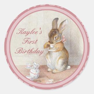 Beatrix Potter Custom Birthday DIY Cupcake Toppers Stickers
