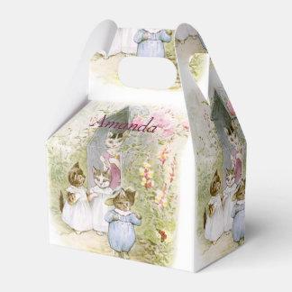 Beatrix Potter, favor del cumpleaños, regalo de Cajas Para Regalos De Fiestas