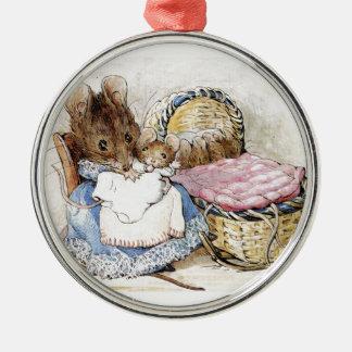 Beatrix Potter, Hunca Munca Metal Ornament