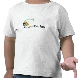 Beatrix Potter Letter C Toddler Or Baby Name Shirt