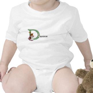 Beatrix Potter Letter D Toddler & Baby Name Shirt