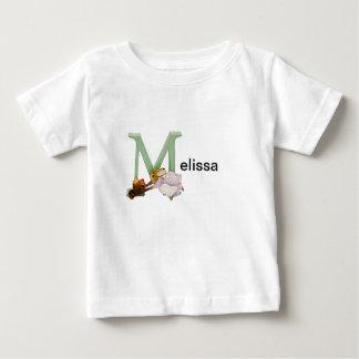 Beatrix Potter Letter M Toddler & Baby Name Shirt