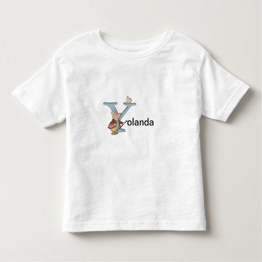 Beatrix Potter Letter Y Toddler Or Baby Shirt