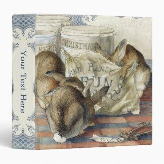 "Beatrix Potter Merry Christmas Rabbit 1.5"" Binder"