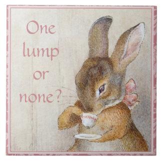 Beatrix Potter Rabbit Custom Art Tile Tea Trivet