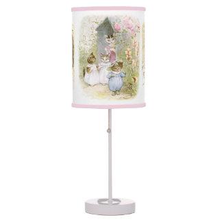 Kids room table pendant lamps zazzle beatrix potter story books fairy tale art lamp sciox Image collections