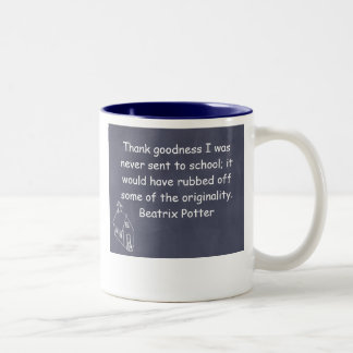 Beatrix Potter's creative learning mug