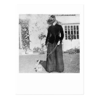 Beatrix y Benjamin Tarjeta Postal
